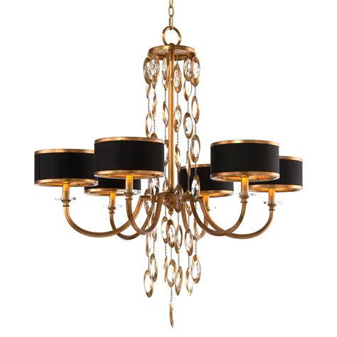 gold and black chandelier richard keyes regency black gold waterfall