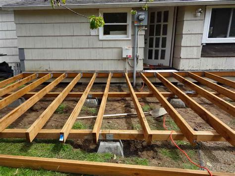 deck plans diy covered ideas framing tos house plans