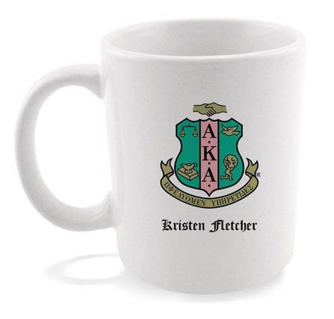 We roast to order our blends and single origin coffees ensuring you get freshly roasted the journey of coffee from origin countries all the way to your home is very long, and great coffee is the result of the hard work and dedication of many. Alpha Kappa Alpha Sorority Coffee Mug with Crest