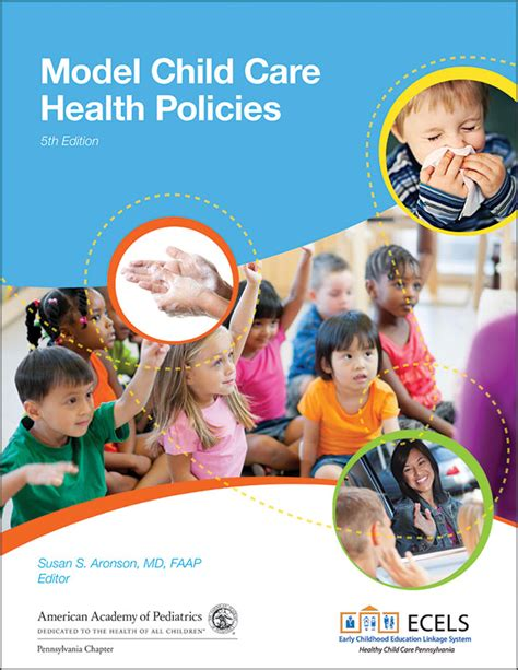 model child care health policies  edition  aap