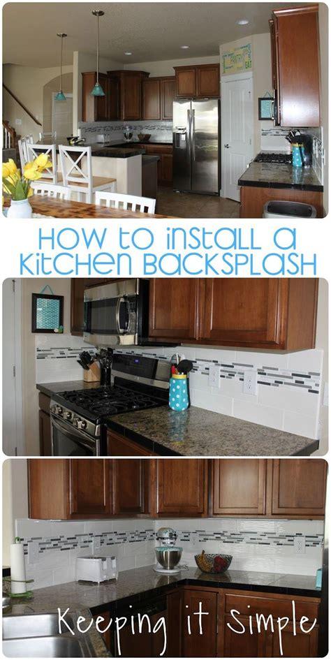 Sticky Backsplash For Kitchen by How To Install A Kitchen Backsplash With Wavecrest And