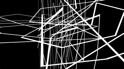 Abstract Black Line by Animation Abstract Motion Graphics On Black Background