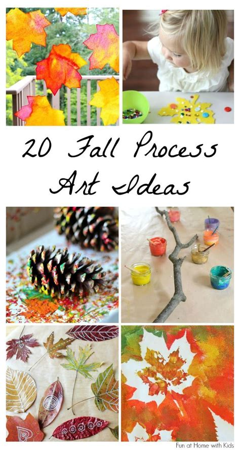 20 beautiful fall process ideas for time 4 978 | ec332218dc8a4126e42fa258f26423d0 kids fall crafts fall arts and crafts