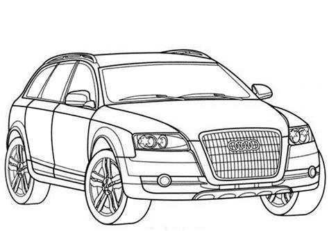 Cars Kleurplaat A4 by Ausmalbilder Audi Q7 Kostenlos Photography Audi