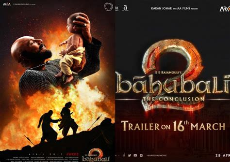 Bahubali 2 Trailer To Release On March 16