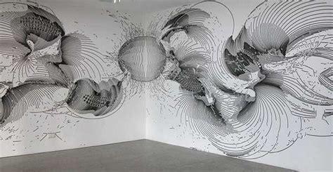 atmospheric arithmetic murals wall drawings