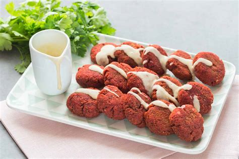 cuisine libanaise recette beetroot falafels cuisine addict cuisine addict