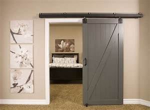 phenomenal diy barn door decorating ideas With barn door installation video
