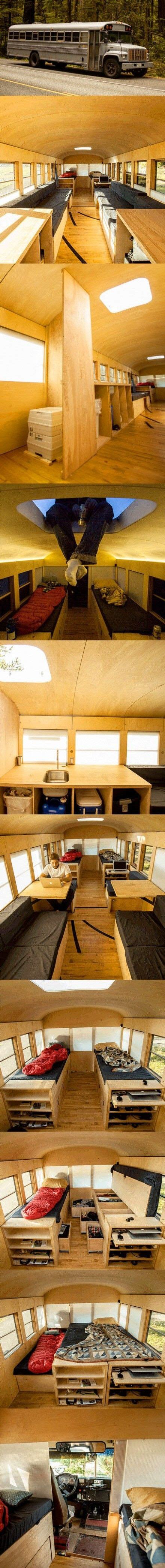 School Converted Into Small Home By Architecture Student by Architecture Student Hank Butitta Converted School