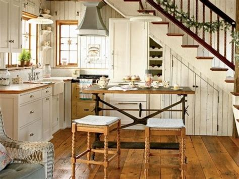 small cottage kitchen design ideas dise 241 os de cocinas bajo la escalera 8005