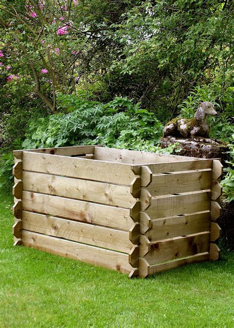 wooden compost bin wooden compost binss duncombe sawmill local and uk 1157