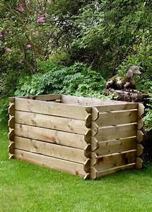 Wooden, Compost, Binss