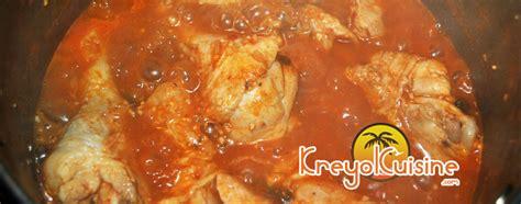 cuisiner le poulet en sauce recette de poulet en sauce