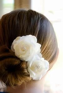 Vintage Wedding Hair Flowers Bridal Hair Piece Ivory