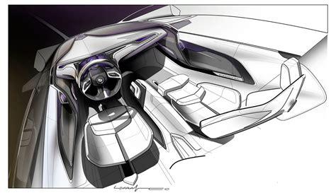 Cadillac Urban Luxury Concept Interior Design Sketch