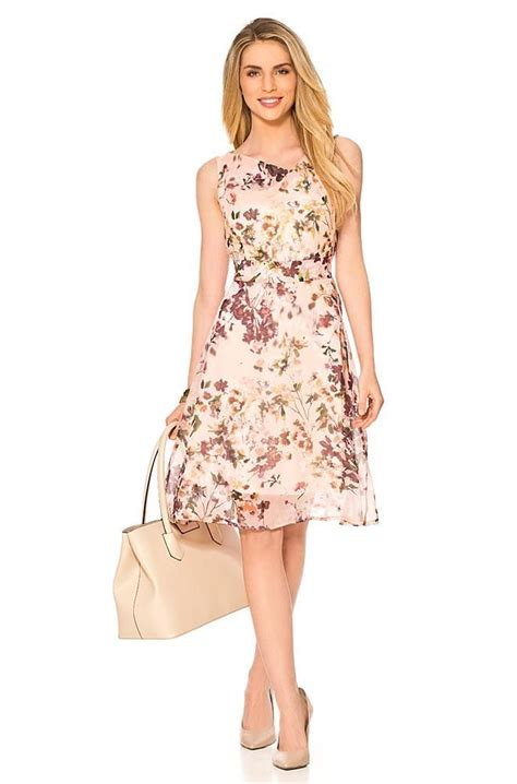 orsay kleider kleid mit blumen print fashion orsay