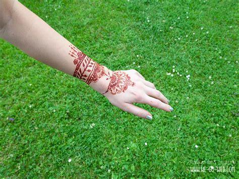 henna paste selber machen henna selber machen kunstvolle diy mehndis vorlagen
