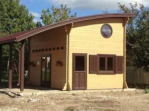 Chalet En Bois Habitable Livré Monté : maison de jardin avec ossature bois lille 20m mezzanine ~ Dailycaller-alerts.com Idées de Décoration