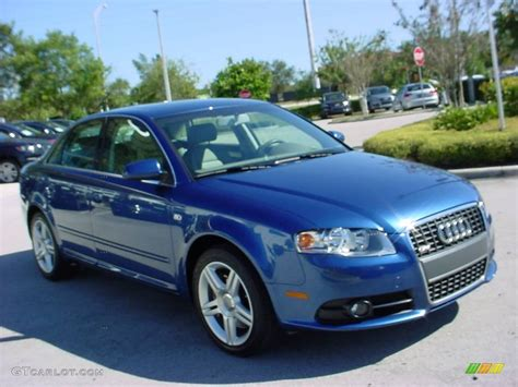 2008 Ocean Blue Pearl Effect Audi A4 2.0t Special Edition