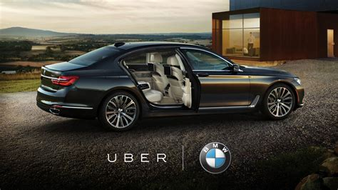 Uber Is A Showroom For New Bmw Models Now