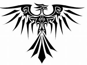 Special Tribal Phoenix Tattoo Design: Real Photo, Pictures ...