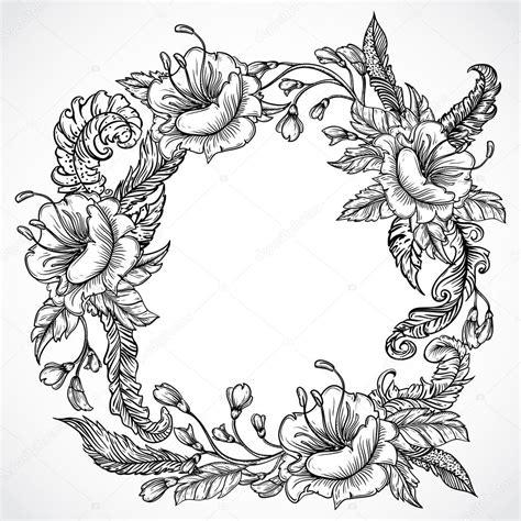 wedding flowers drawing  getdrawings