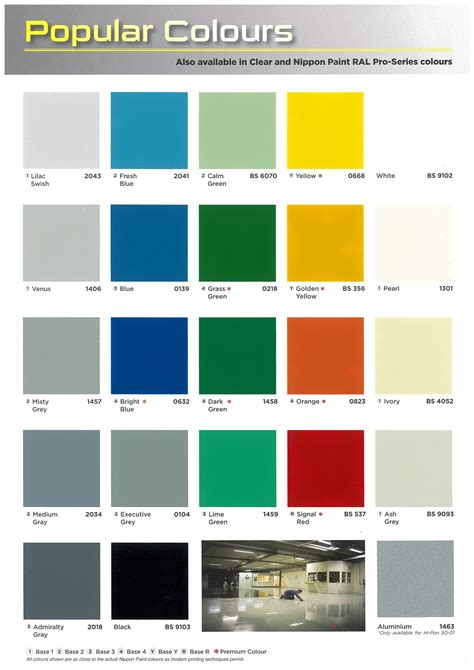 Nippon Paint Exterior Color Chart