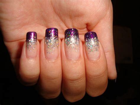 Nail Art With Glitter : 70 Most Stylish Glitter Gradient Nail Art Ideas
