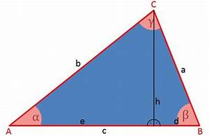 Dreieck Berechnen Rechtwinklig : kosinussatz und dreieck berechnen eines dreiecks ~ Themetempest.com Abrechnung