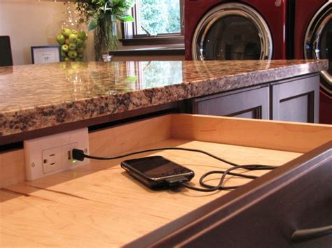 Drawer With Charging Station