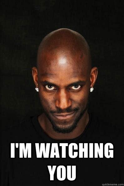 I M Watching You Meme - i m watching you creepy garnette quickmeme