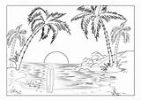 Hawaii Coloring Pages Printable Ic Shown Above Links sketch template