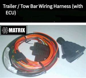 Wiring Harness With 7 Pin Plug And Ecu