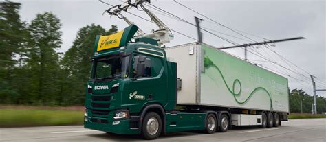 scania  supply trucks  german ehighways research