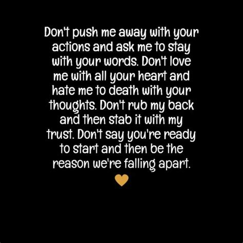 please dont push me away quotes