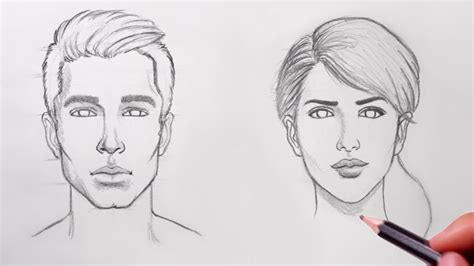 How To Draw Faces For Beginners Doovi