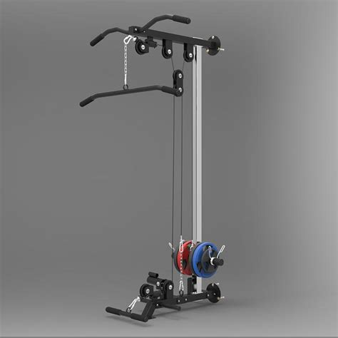 wall multi  cable machine weight plates  included fitwhilehome