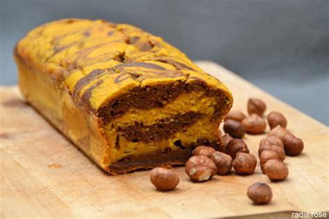 comment cuisiner du potimarron cake léger marbré potimarron chocolat radis