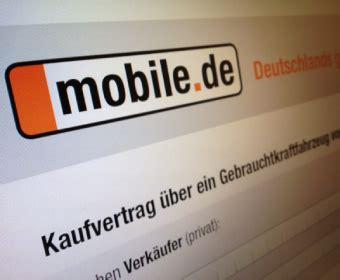 mobile de auto verkaufen mobile de kfz kaufvertrag privat an privat autofreund24