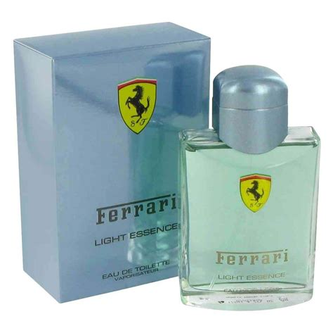 Its woody texture perfectly details the intricacies of the masculine spirit. Ferrari Light Essence EDT 100 ml for Men - iFragrance.pk