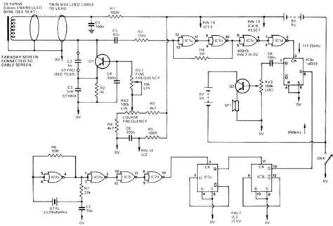 Pin Surfmaster Metal Detector Schematic Diagram View