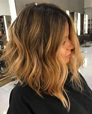 Ombre Hair Medium Length Hairstyles for Wo…