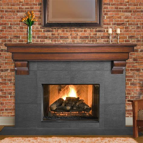 How To Make Fireplace Mantel Shelf ~ Home Decorations
