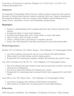 Entertainment Resume Template by Media Entertainment Resume Templates To Impress Any