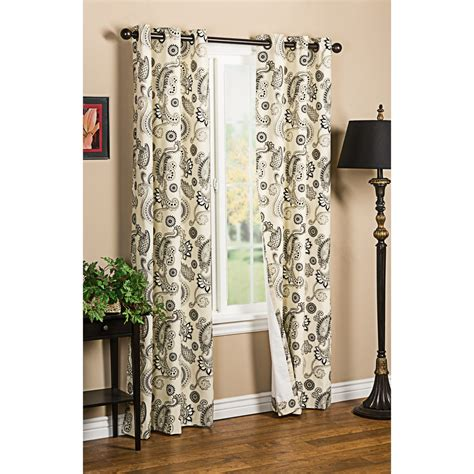 paisley curtains thermalogic weathermate plymouth paisley curtains 80x84 quot grommet top insulated save 39