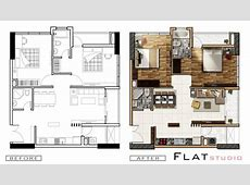 Architecture plan render by photoshop _ PART 2 YouTube