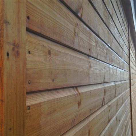 how to fit shiplap cladding chard timber garage sizes from 14 x 9 dsbuildings