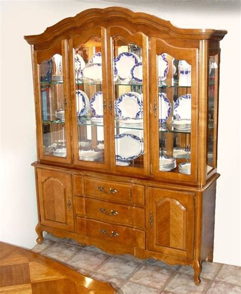 french country china cabinet 159 stanley furniture country french china cabinet lot 159