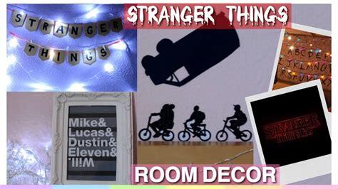 diy stranger  room decor tumblr fandom room decor