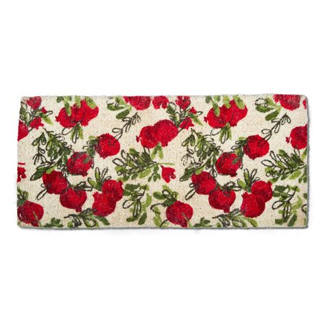 Tag Doormat by Tag Pomegranate 18 In X 40 In Coir Estate Door Mat